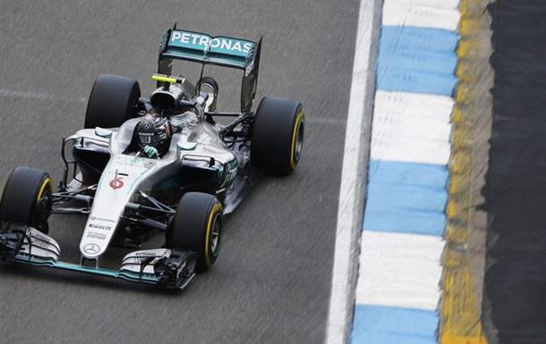 Формула-1. Гран-при Германии. Росберг — лучший в третьей тренировке