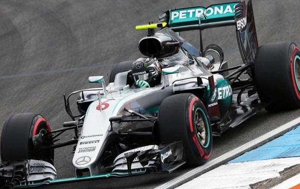 Формула-1. Гран-при Германии. Росберг на поуле в Хоккенхайме