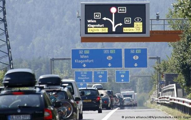Визит Путина в Словению привел к пробкам в Австрии