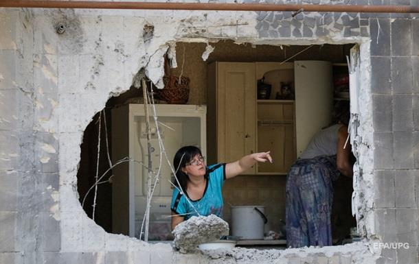 Обстрел Ясиноватой в зоне АТО: фото разрушений