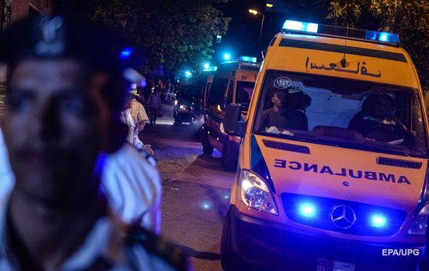В Египте при обрушении дома погибли дети
