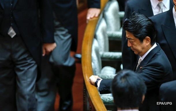 Правительство Японии подало в отставку