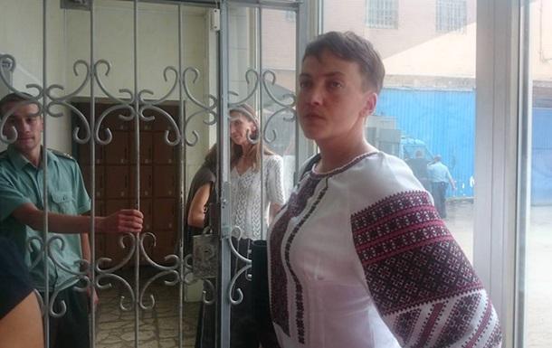 Голодающая Надежда Савченко
