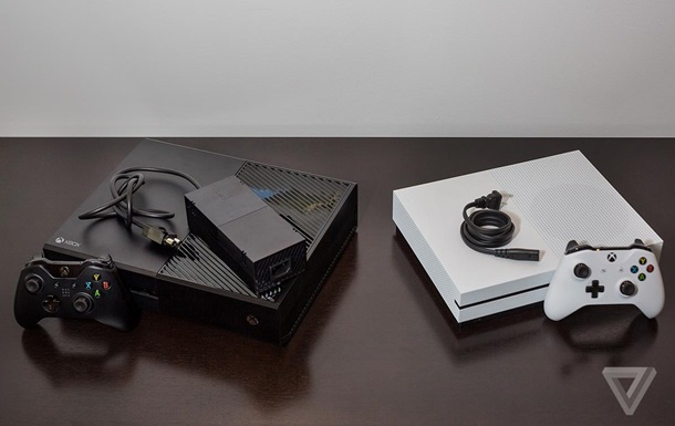 Microsoft выпустила новую Xbox One