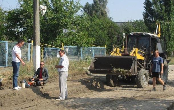Александр Репки: В Токмаке начат ремонт одной из важных дорог города