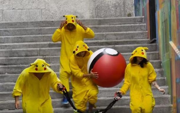 Швейцарская фирма  натравила  покемонов на людей