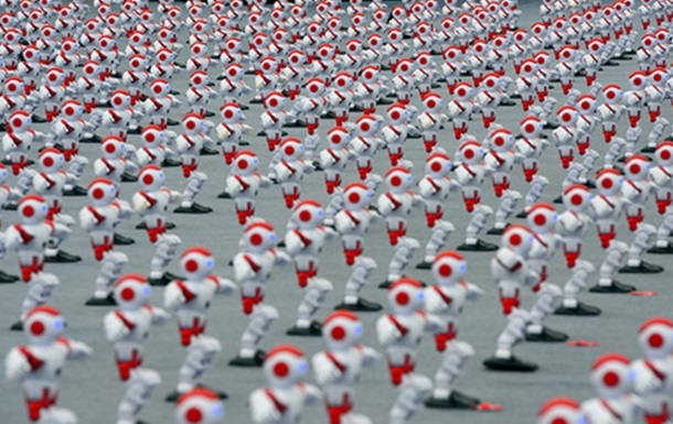 В Китае тысяча роботов установила рекорд