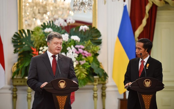 Индонезия введет безвиз для украинцев – Порошенко