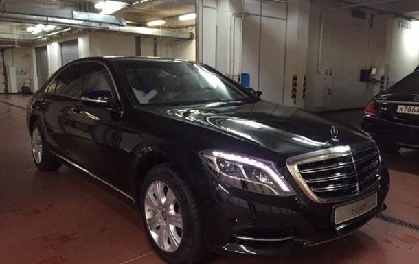 Нафтогаз решил не покупать бронированный Mercedes