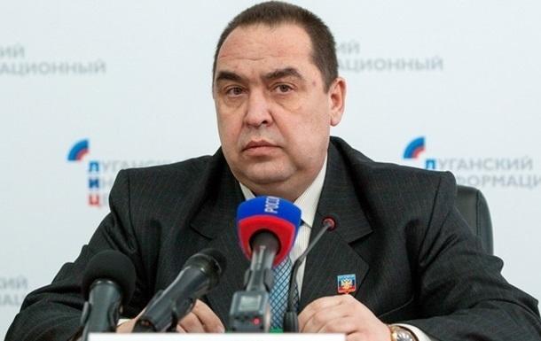В Луганске подорвали автомобиль главы ЛНР