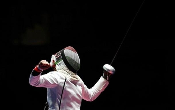 Фехтование. Венгерка Шаш - олимпийская чемпионка в шпаге