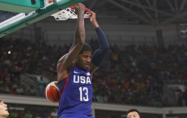 Баскетбол. Сборная США деклассировала Китай