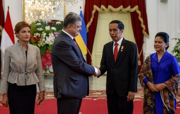 Украина и Индонезия готовятся к зоне свободной торговли