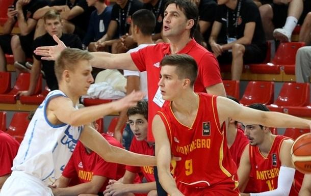 Евробаскет U-18: Финал. Украина уступает Черногории