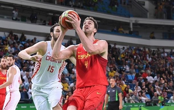 Баскетбол. Хорваты шокируют Испанию