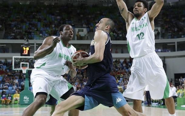 Баскетбол. Аргентина сильнее Нигерии