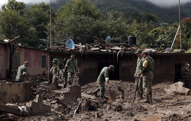 Шторм в Мексике: число жертв возросло до 44 человек