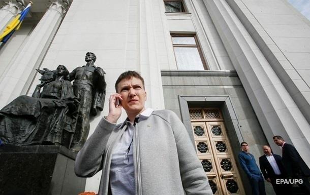 Савченко собирается ночевать подАП сматерями пленных наДонбассе бойцов