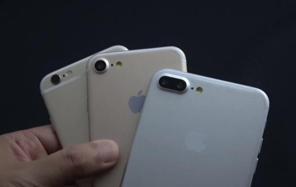 В сети появились характеристики iPhone 7