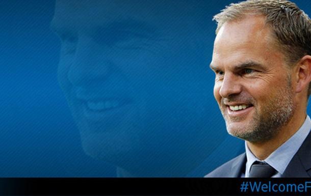 Официально: де Бур – главный тренер Интера