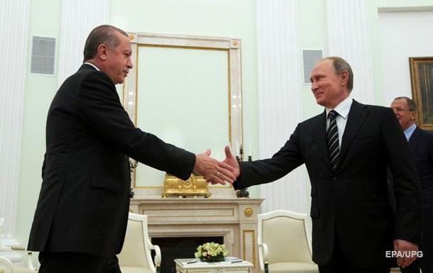 Анкара назвала посредника между Путиным и Эрдоганом