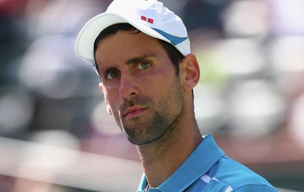 Джокович до US Open не зіграє