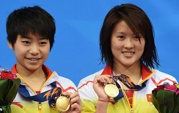 Прыжки в воду. Третье золото Китая в прыжках