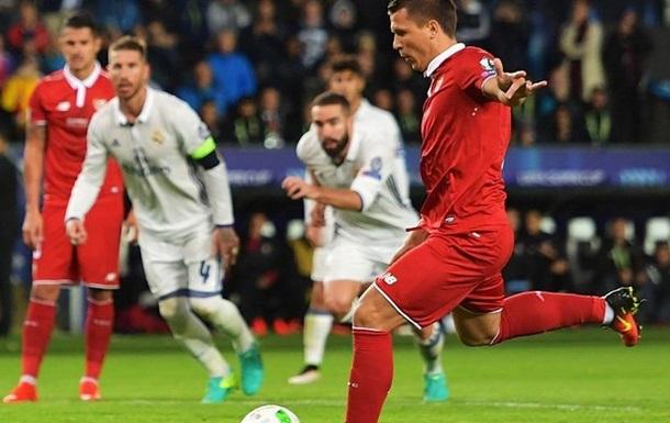 Реал побеждает в Суперкубке Европы