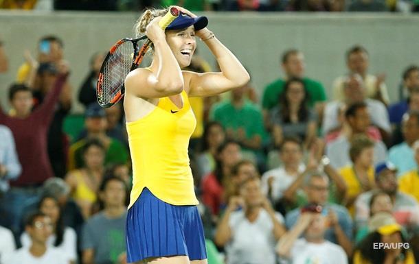 Украинка обыграла на Олимпиаде первую ракетку мира