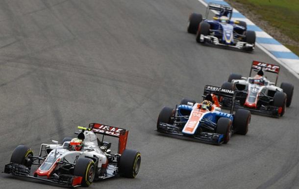 Формула-1. Итоги первой половины сезона: Хаас, Рено, Манор и Заубер