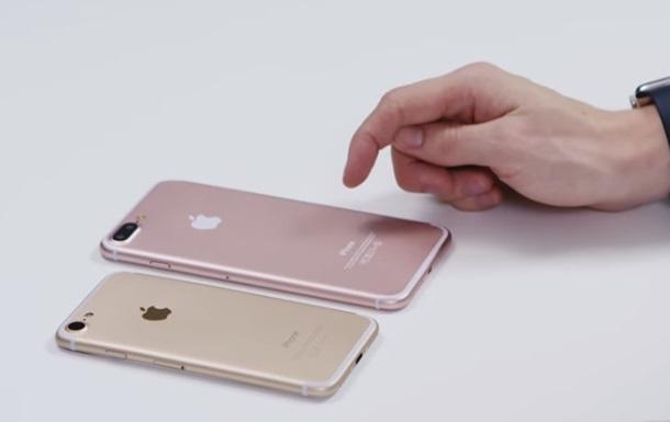 iPhone 7 и всех предшественников сравнили на видео