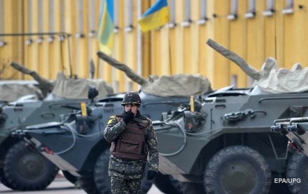 Генштаб: Украина усилила войска у границы с Крымом