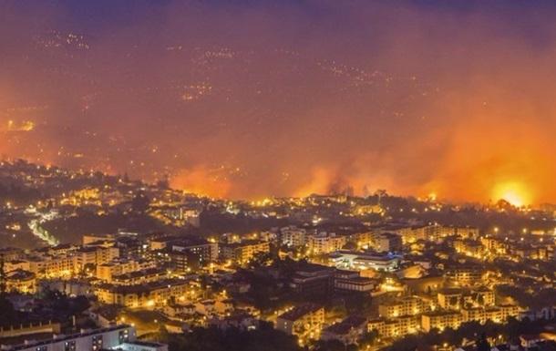 Роналду поможет пострадавшим от пожаров на Мадейре