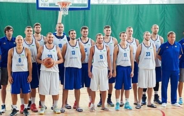 Украина сыграет с Россией на турнире по баскетболу