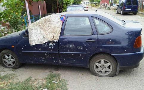 ВОдессе рано утром произошел взрыв, разрушен автомобиль
