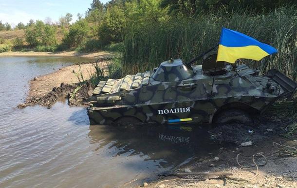 На Донбассе проходят учения спецназа