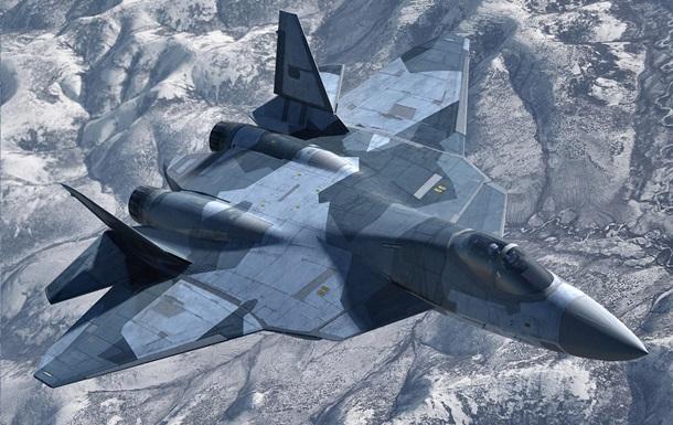 РФ показала новейший истребитель Т-50 в воздухе