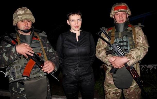 Савченко хочет отпускать пленных сепаратистов
