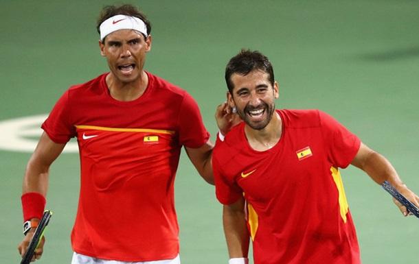 Теннис. Парный разряд. Надаль и Лопес - олимпийские чемпионы!