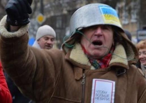 По Украине широко распространяется  Майдан головного мозга