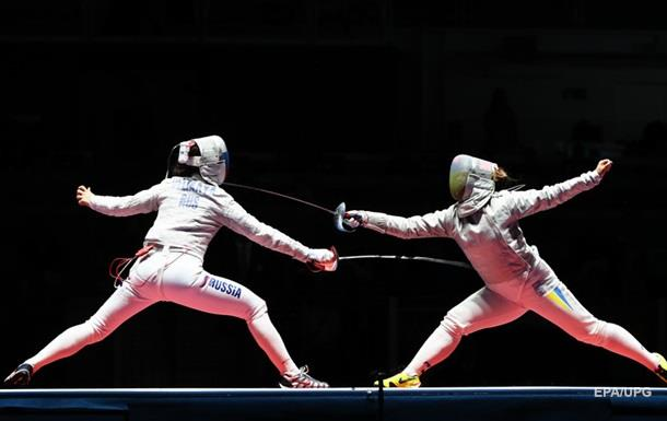Украинки завоевали серебро в фехтовании