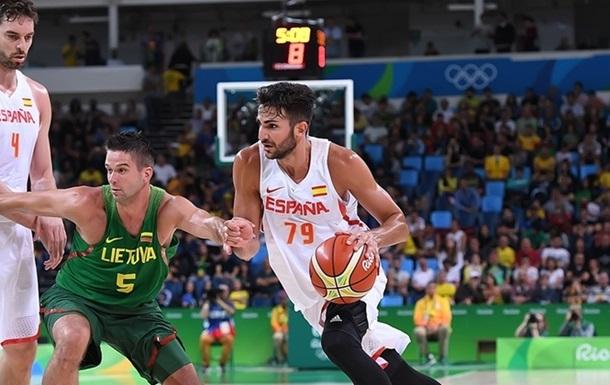 Баскетбол. Испания разгромила Литву -50