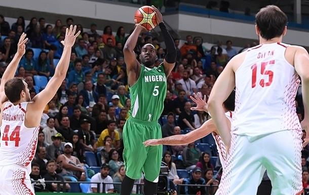 Баскетбол. Нигерия одерживает первую победу на турнире