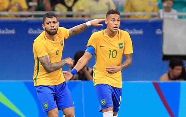 Футбол. Бразилия выходит в полуфинал Олимпиады