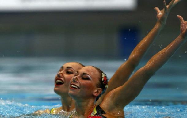Синхронное плавание. Украинский дуэт показал пятый результат в свободной программе