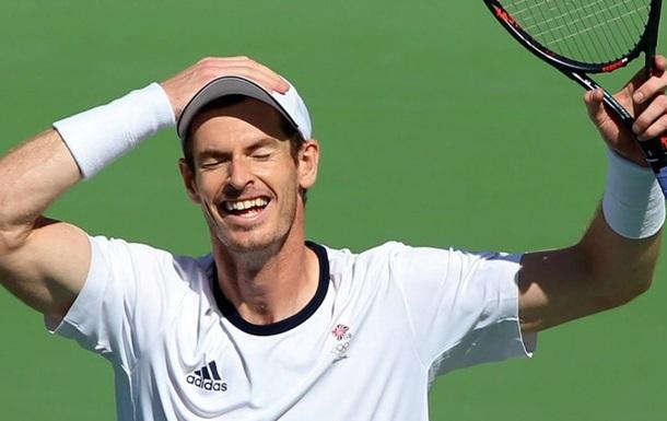 Энди Маррей - двукратный олимпийский чемпион по теннису