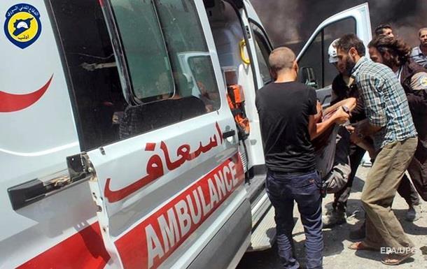 Взрыв автобуса в Сирии: более тридцати погибших