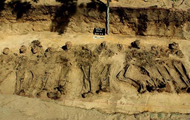 На Волыни нашли останки польских легионеров