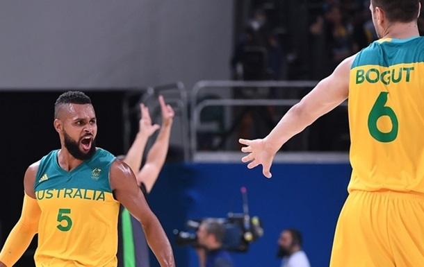 Баскетбол. Австралия - первый полуфиналист