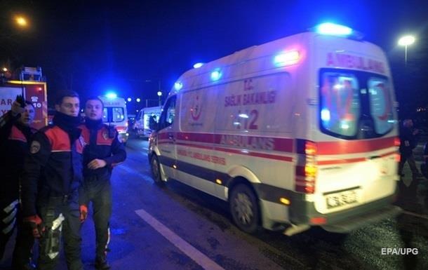Теракт в Турции: взорвали автомобиль